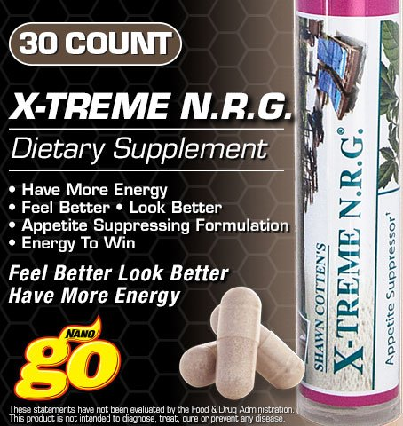 X-Treme (Extreme) N.R.G. Dietary Weight Loss Supplement Review