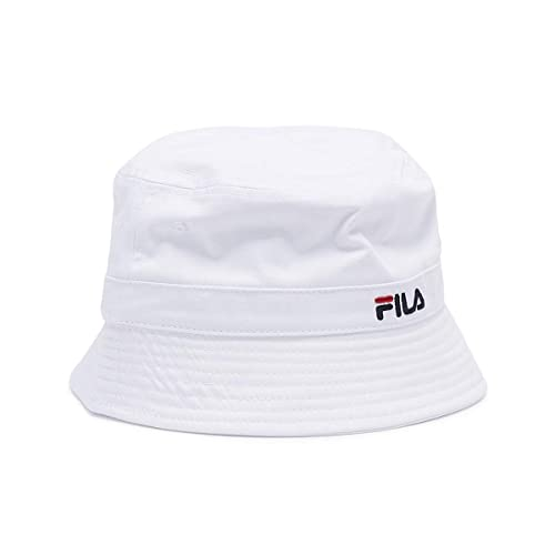 7d515d6faebbfe Fila Butler White Bucket Hat: Amazon.co.uk: Shoes & Bags