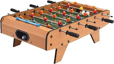 Ecológico ABS Futbolín interactivos para múltiples Juegos de Mesa 6 Bar de Mesa de fútbol: Amazon.es: Deportes y aire libre