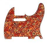 Musiclily 8 Hole Tele Pickguard Guitar scratch
