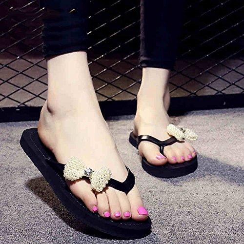 frescas la nueva las de 1 manera muchachas la deporte verano MEIDUO Chanclas de para del sandalias 5cm del de Zapatillas cómodo 8O60Uwv