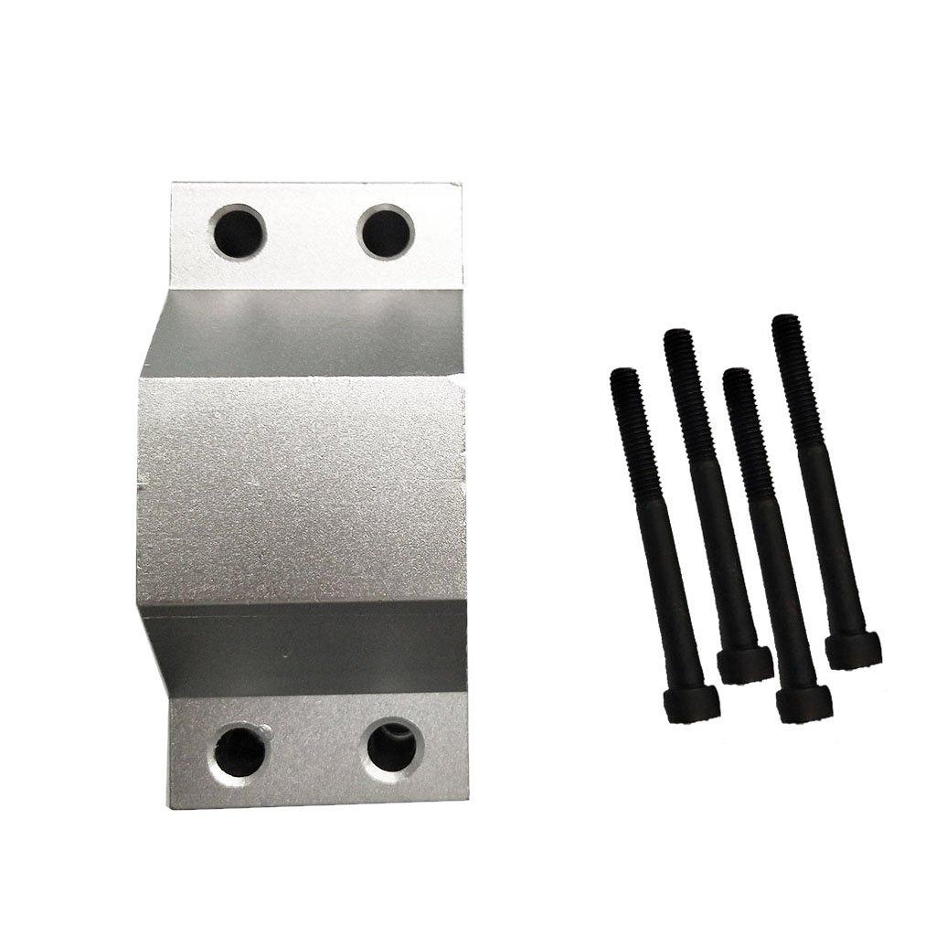 B Blesiya Spindelaufnahme Spindelhalter Halterung 52mm fü r CNC Graviermaschine