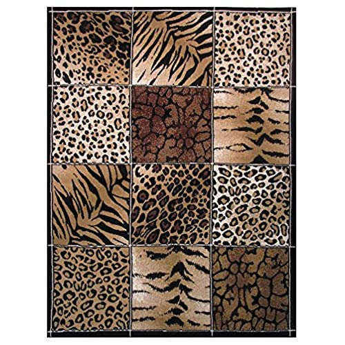 Leopard Print Rugs Amazon Com