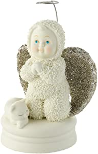 Department 56 Snowbabies Dream Collection Goodnight Prayers Angel Figurine, 4.13 inch