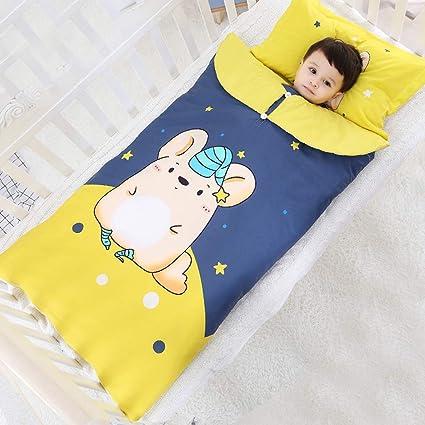 Saco de Dormir para bebé, Antideslizante Grueso de otoño e Invierno para niños, Colcha