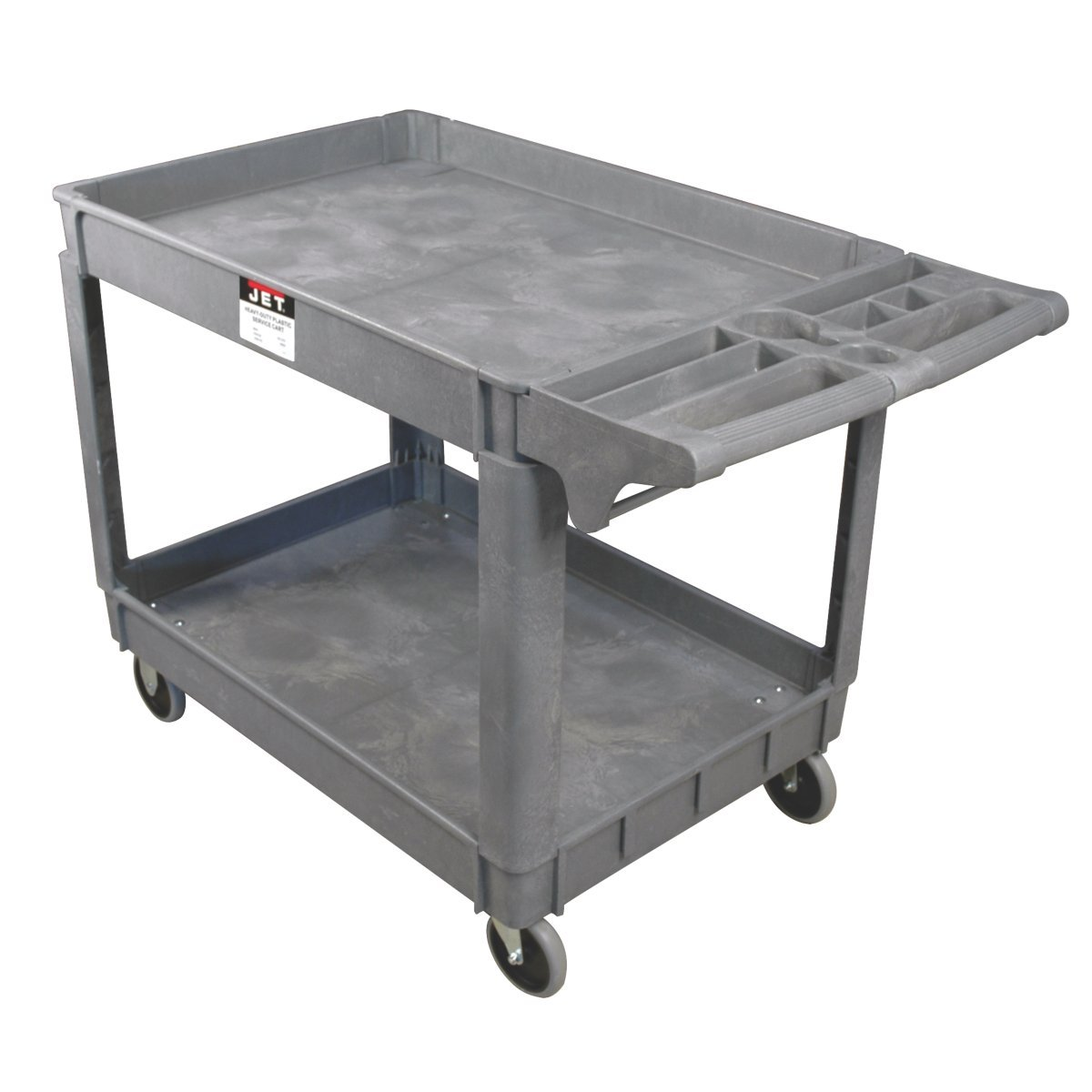 JET PUC-3725 Resin Utility Cart