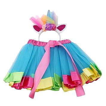 L_shop - Juego de Diadema de Unicornio para Disfraz de Princesa ...