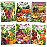buy Rainbow Vegetable Seed Collection (35+ Varieties of Carrots, Peppers, Pumpkins, Tomatoes & Beets!) Non-GMO Seeds by Seed Needs now, new 2020-2019 bestseller, review and Photo, best price $22.10