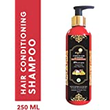 Aegte Natural Hair Conditioning Shampoo Enriched with Red Onion, Fenugreek Seeds, Kalonji & Amla - 250ml