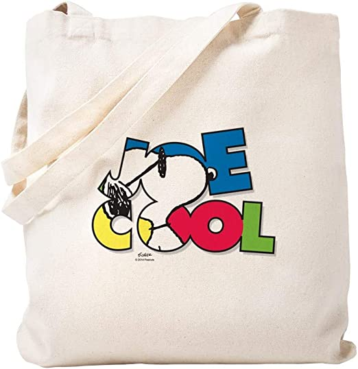 Snoopy Joe Cool Tote Bag