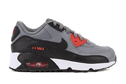 new products 727bf adf5d promo code for nike air max 90 ltr cool grey black max orange little kid  ae065