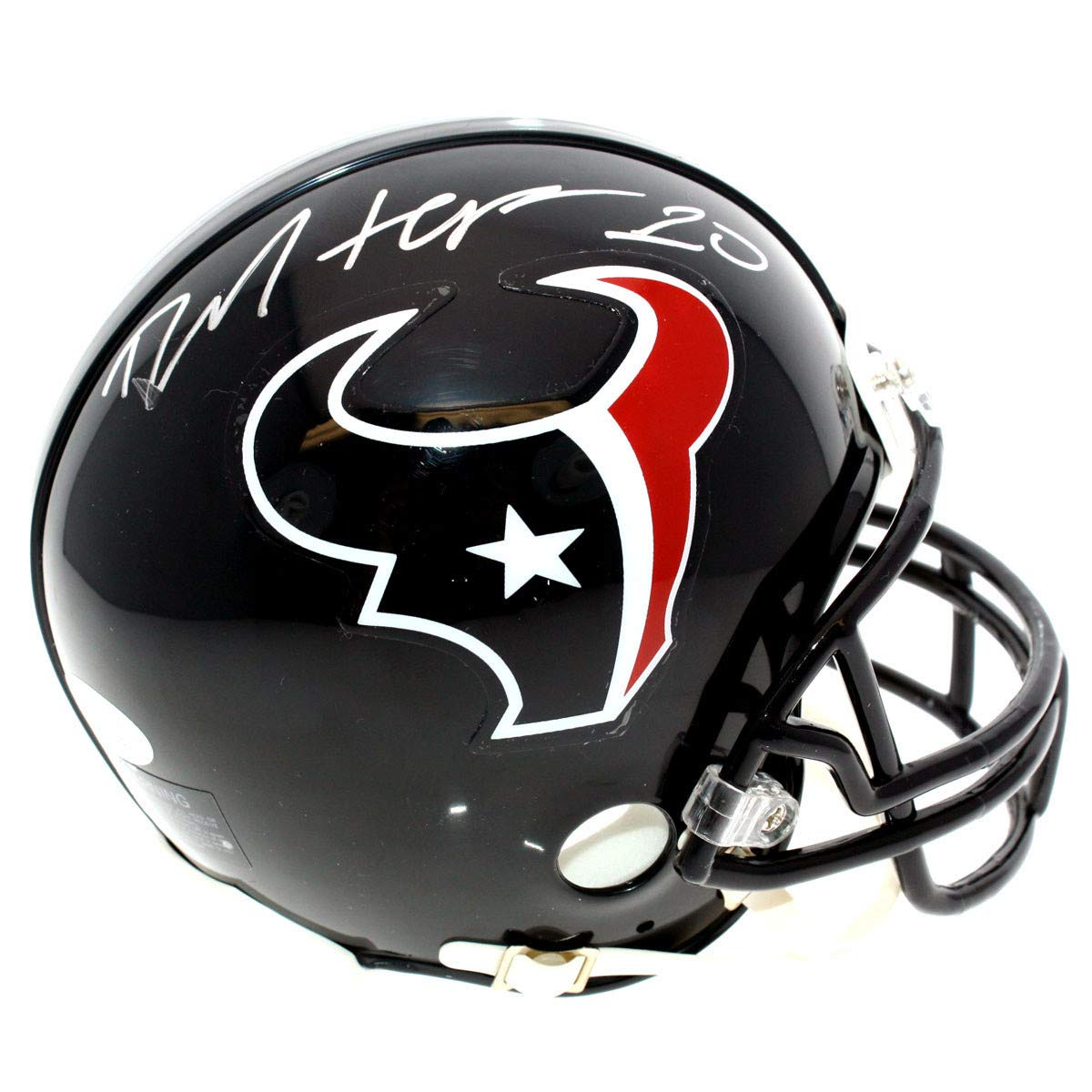 DeAndre Hopkins Autographed Signed Houston Texans Mini Helmet - JSA Certified Authentic - Autographed Signed Mini Helmets