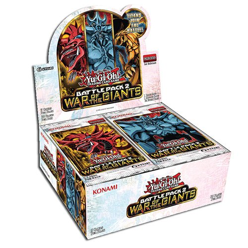 36 x Yu-Gi-Oh - Battle Pack 2 War Of The Giants Boosters - 34108