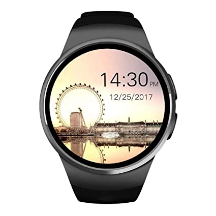 Amazon.com: Smart Watch 1.5 inches Round Touch Screen ...