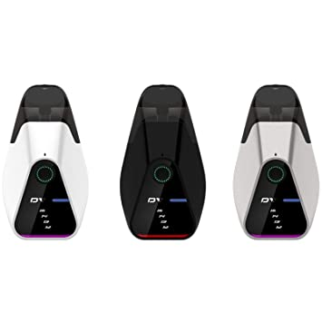 Innokin Dv Ultra Compact Refillable Pod Kit with Plex3D New Mesh Coil Pod  System Vaping Kit (Black)1 Units