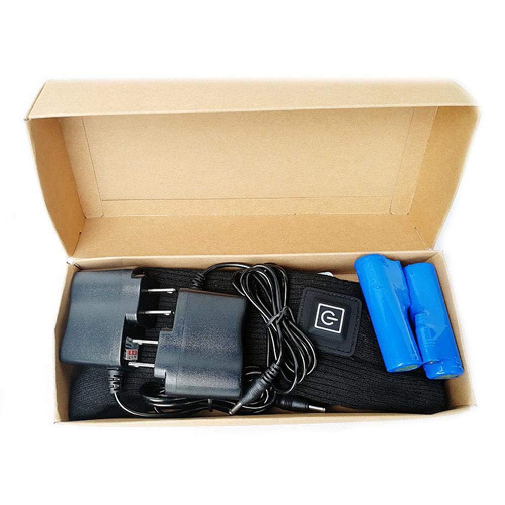 zaote Upgrade Heizsocken Boot Thermal Socks Wiederaufladbare Batterie Elektrische Heizsocken Starke W/ärmeableitung Isolierte Heizsocken Socken Fu/ßw/ärmer f/ür chronisch kalte F/ü/ße trendy