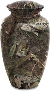 UrnsDirect2U Bass Camo Adult Decorative-urns, Green