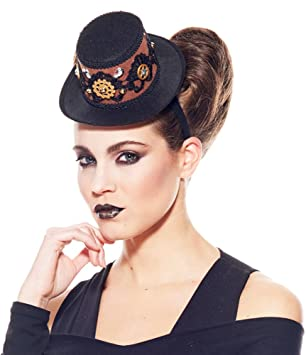 couleur rapide garantie de haute qualité profiter du prix de liquidation Serre-tete chapeau Steampunk femme: Amazon.co.uk: Toys & Games