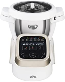 All Clad HP503152 Prepu0026Cook Cooking Food Processor, 4.7 Quart, White