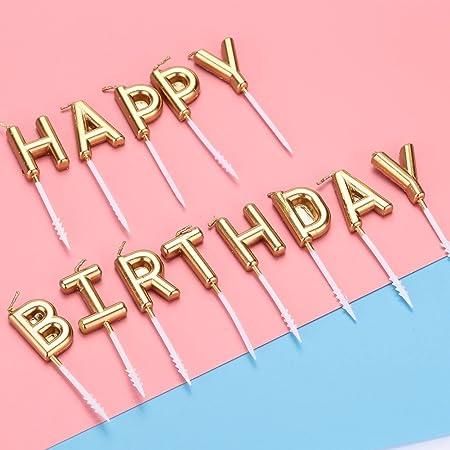Gulin Velas del Feliz cumpleaños, Vela Divertida de la Torta ...