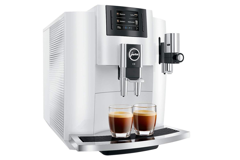 JURA E8 PianoWhite - Cafetera (Independiente, Máquina espresso, 1 ...