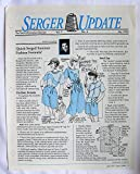 img - for Serger Update Vol. 7 No. 4 July 1993 book / textbook / text book