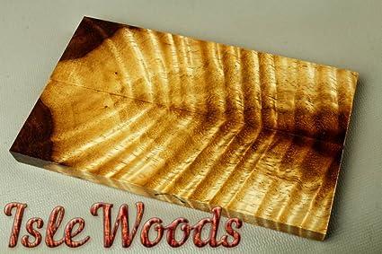 Stabilized Monkey Pod Exotic Wood Knife Scales Gun Grips