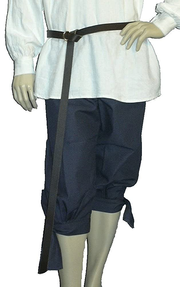 Deluxe Adult Costumes - Faireware gray pirate knee breeches