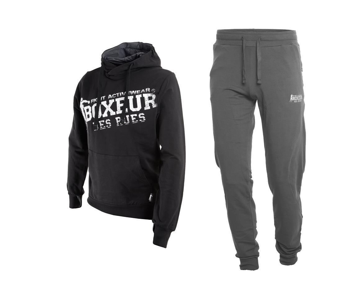 BOXEUR DES RUES Fight Activewear Trainingsanzug für Herren B01C8XHDOC Herren Neueste Technologie