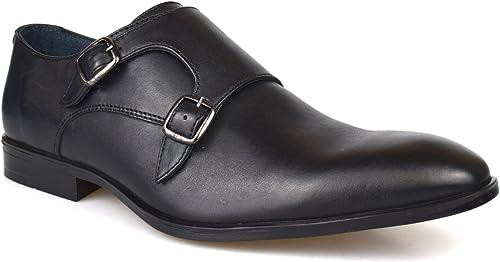black monk shoes