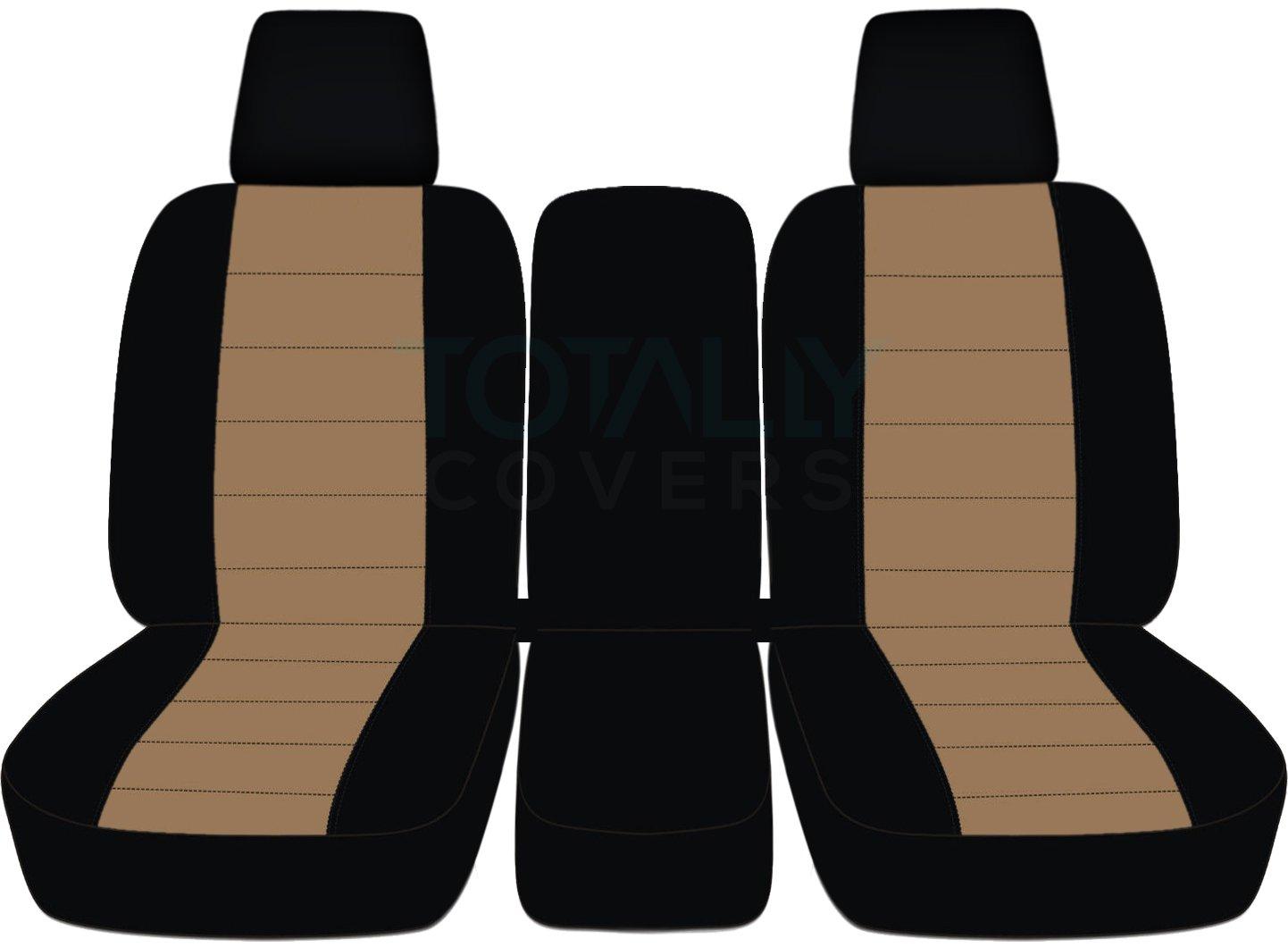 2004 – 2008フォードF - 150ツートンカラートラックシートカバー(フロント40 / 20 / 40分割ベンチ) センターコンソール/アームレスト、W / WO、シートベルト – フロント( 21色) 2005 2006 2007 Fシリーズf150 (右ハンドル車との互換性は保証いたしかねます) Solid Armrest ブラウン TCCSCTT26-15-0408FF150424-SA B06XDTLGFG Solid Armrest|Black and Brown Black and Brown Solid Armrest