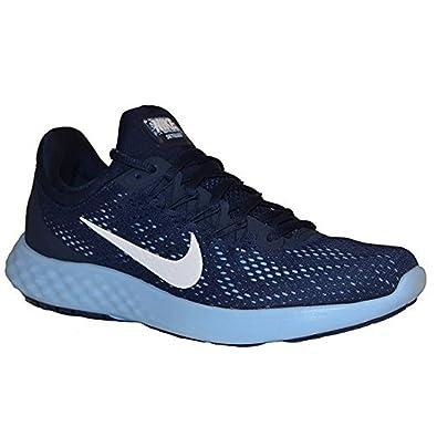 online store 98e0c 63df9 NIKE Women s Lunar Skyelux Running Shoes (11, Midnight Navy White-Bluecap)