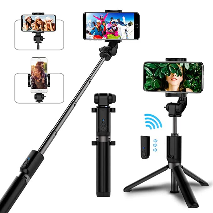 Amazon.com  Selfie Stick Bluetooth 9efc620231d0