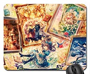 Alice in Wonderland [1] Mouse Pad, Mousepad (10.2 x 8.3 x 0.12 inches)