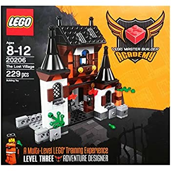 Amazon.com: LEGO Master Builder Academy Set #20206 MBA Lost ...