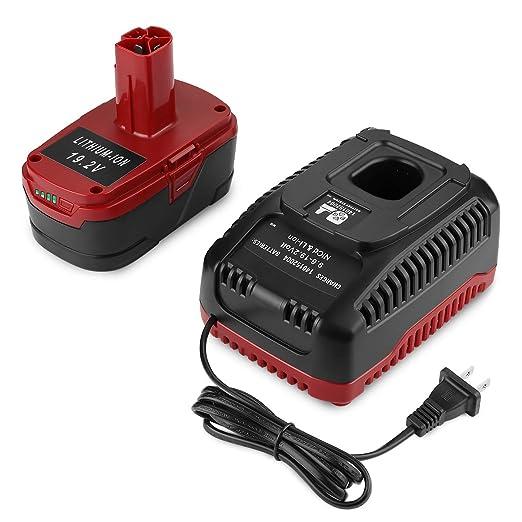 ANTRobut Batería de repuesto de litio de 5.0Ah 19.2V para ...