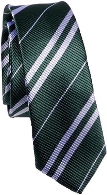 Kai Long - Corbata - Rayas - para hombre verde verde Talla única ...