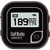 Golf Buddy Voice 2 Talking GPS Rangefinder, Long Lasting Battery Golf Distance Range Finder, Easy-to-use Golf Navigation for