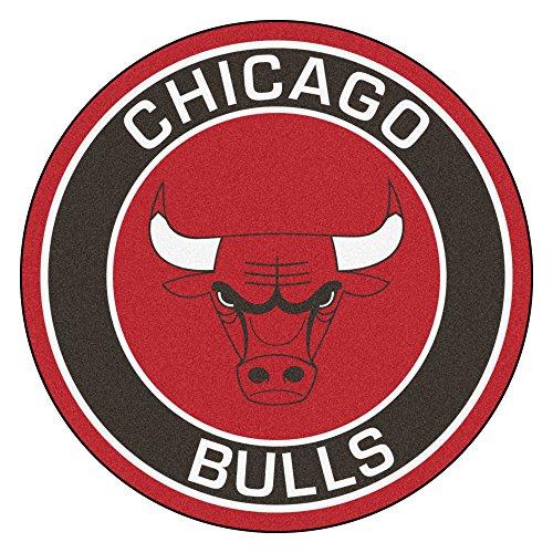FANMATS 18830 NBA Chicago Bulls Roundel Mat