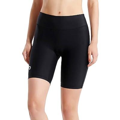 .com : BALEAF Women's 7 Inches Compression Running Shorts Spandex Workout Shorts Pocket : Clothing