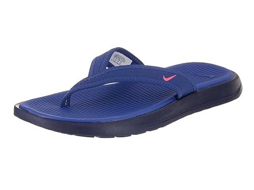 b6518995f451 Nike Womens Celso Thong Plus Sandal 882698 400 (Paramount Blue Hot  Punch Binary