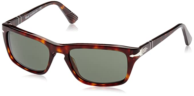 d88b0dff89f7 Image Unavailable. Image not available for. Colour: Persol PO3074S  Sunglasses-24/31 Havana (Crystal Green)-58mm