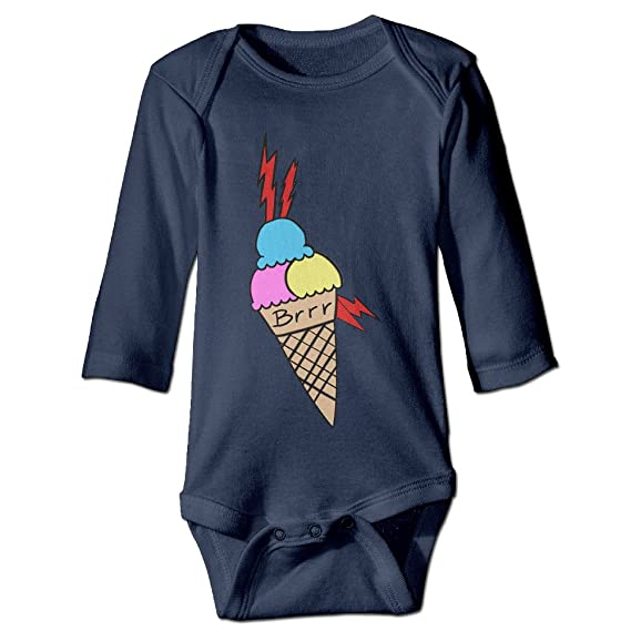 0b0706f4ef4 LALayton Gucci Mane Cool For Newborn Baby Clothes Bodysuits Long Sleeved  Navy