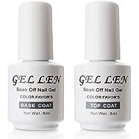 Gellen Soak-Off Gel-nagellak, 4 stuks, zwart, wit, kleurrijk, duurzame gel-nagellak, houdt 14 dagen langer mee