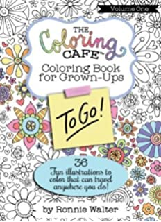 The Coloring Cafe To Go Volume One