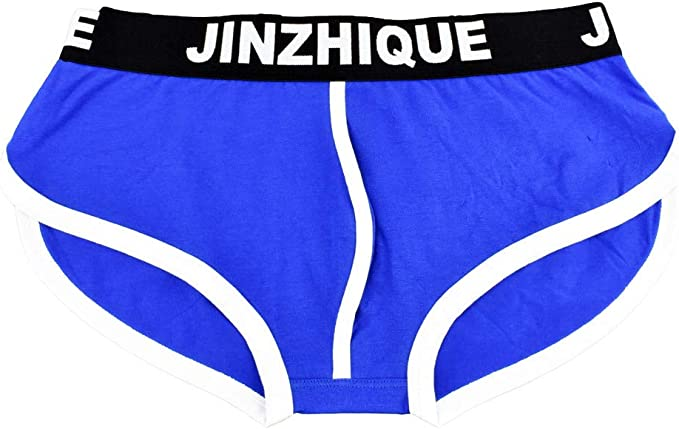 Mens Classic Soft Splicing Underpants Short Breathable Briefs Knickers Underwear