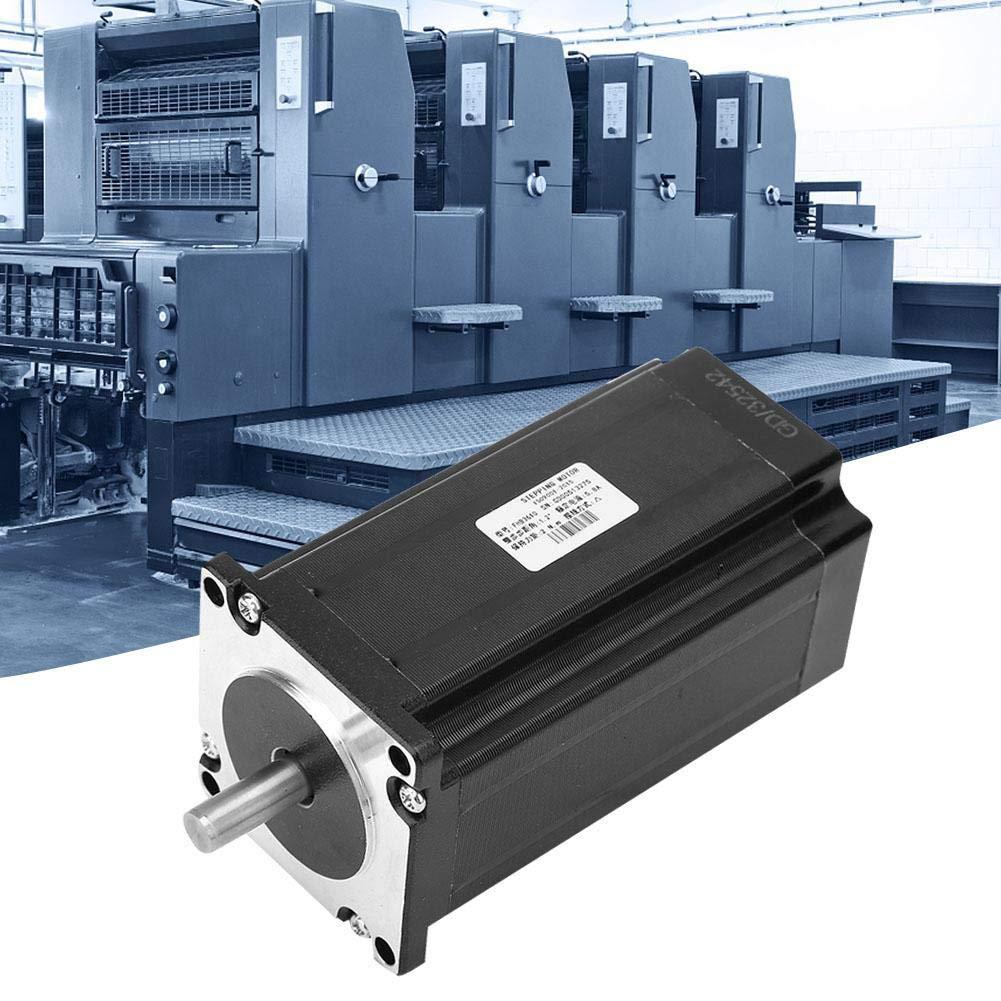 Nema 23 Motor paso a paso, 3 fases DC 24-80 V 5.8A 2.0NM FHB3610 Motor de paso para máquina CNC Industria de maquinaria para maquinaria textil y equipamiento, máquinas ATM, máquina de