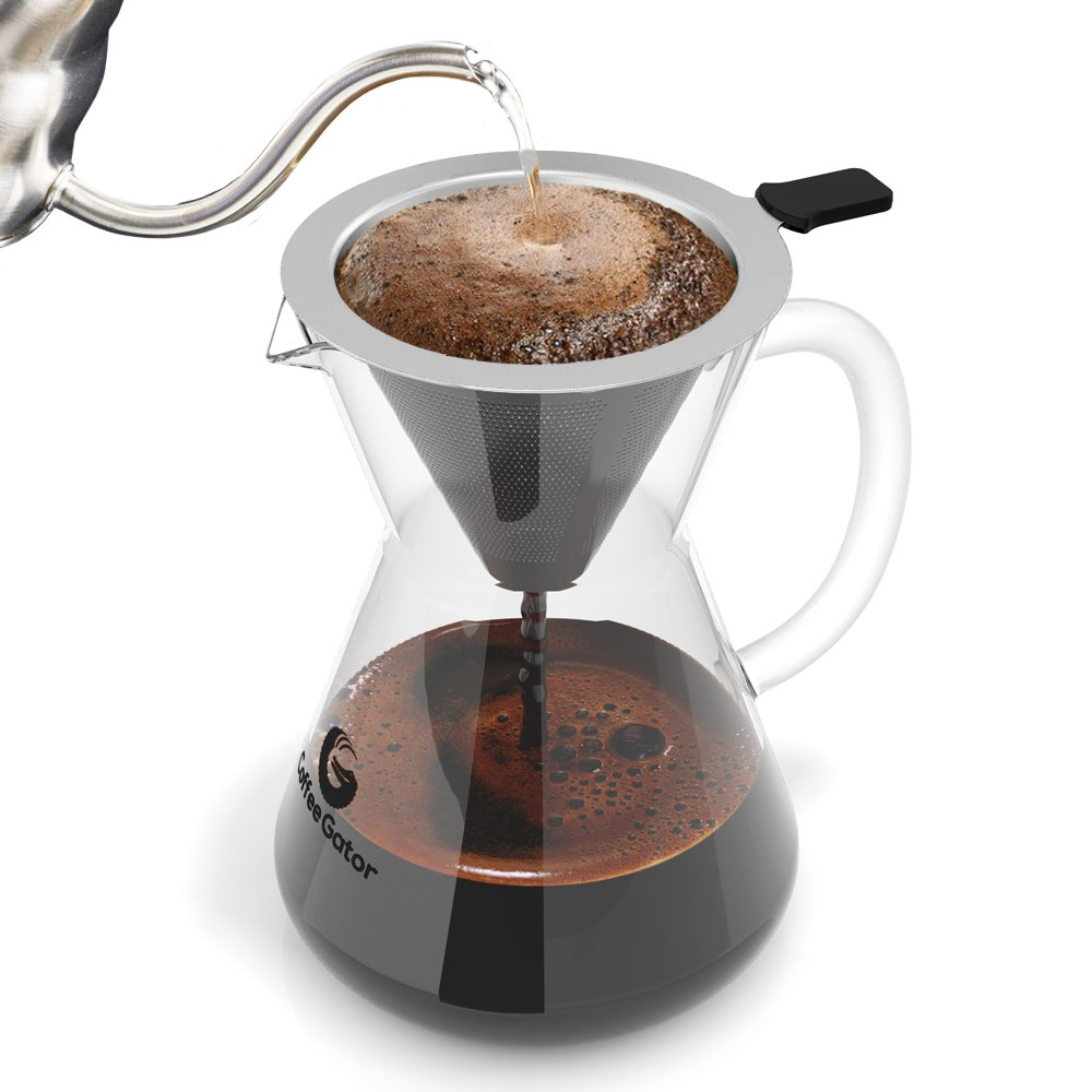 AMAZON'S CHOICE BEST SELLING POUR OVER COFFEE MAKER