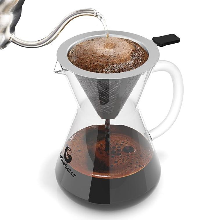 闪购!五颗星销量第一! 专业手冲咖啡壶$28.79