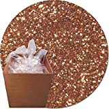 Glitter My World! Craft Glitter: 25lb Box: Copper Glitz